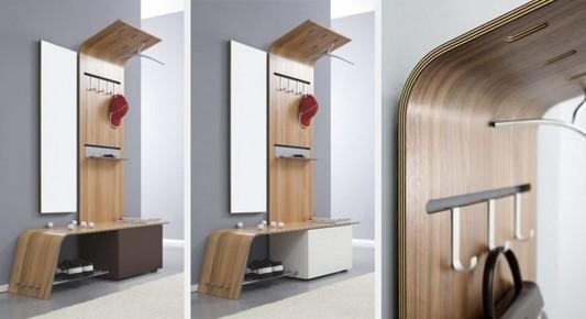 Modern Foyer Furniture By Sudbrock : Modern practical corridor furniture design ideas elli by