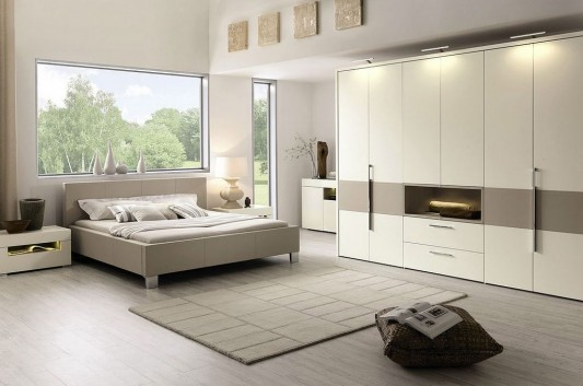 new fresh and exclusive modern bedroom furniture collection elumo ii by huelsta home design. Black Bedroom Furniture Sets. Home Design Ideas
