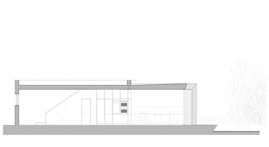 Faceted house - small house renovation drawing plan