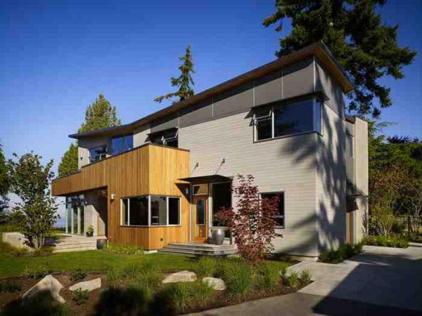 Fairhaven residence house with structural teel