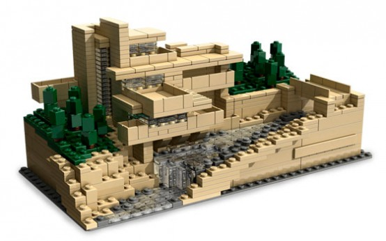 Fallingwater Beautiful House Design With Natural Stone