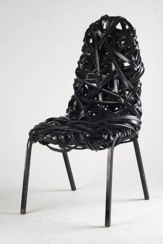 Unique Furniture Made Of Industrial Waste Materials By