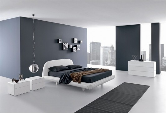 Cool And Stylish Bed For Modern Bedroom Fusion By Presotto Home Delectable Bedroom 1 Minimalist Interior