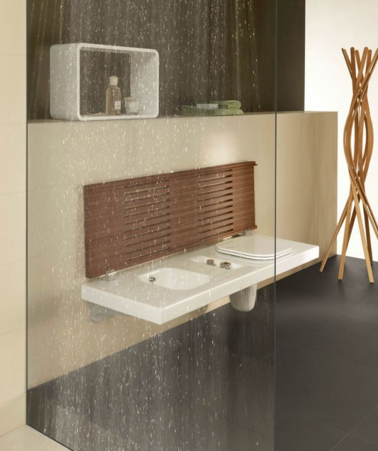 G-Full bathroom furniture with elegant and minimalist design