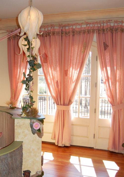 Girl room with pink color