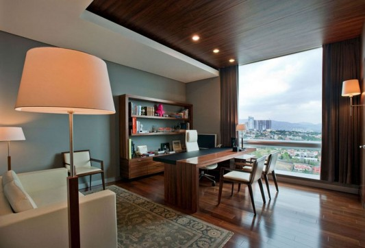Naturally and Glamorous Contemporary Office Interior Design, ACBC ...