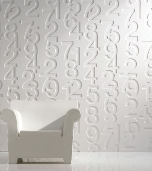 Helvetica modern iconic wall panels