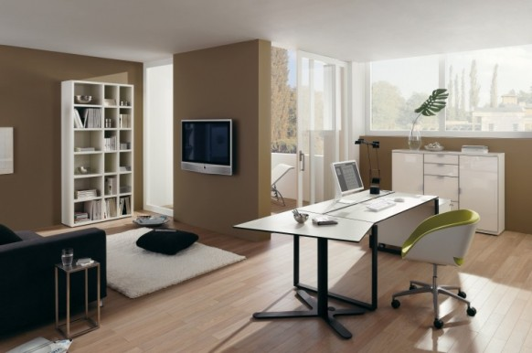 Elegant Home Office Furniture By Hulsta