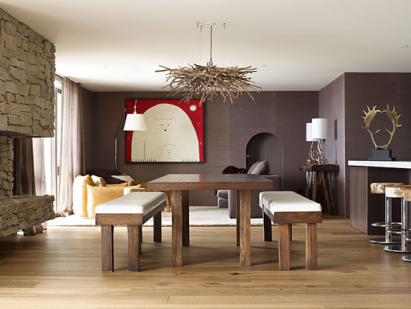 house floor plans using high quality wood
