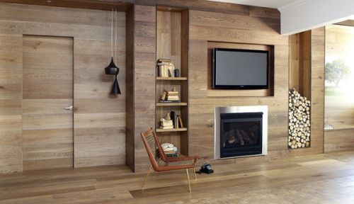 Traditional house floor plans using high quality wood