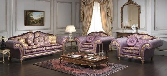 Imperial Luxury And Elegant Classic Sofa Design