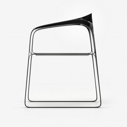 Innovative Contemporary Carbon Fibre Furniture chair design