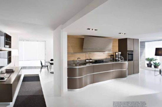 Innovative Modern Kitchen by  Pedini