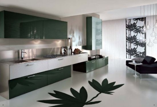 Innovative Modern Kitchen by  Pedini