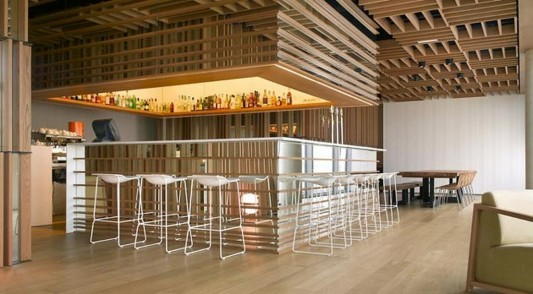 Isabel Lopez Vilalta creative ideas for lovely wooden restaurant