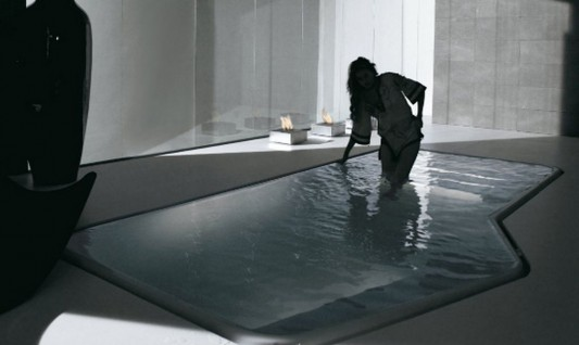 Italian style swimming pools for luxury apartments Kos