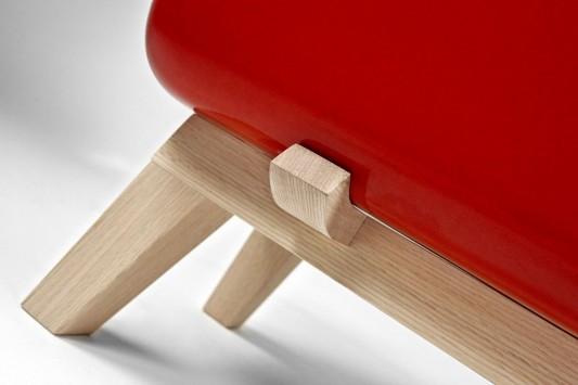 KERAMOS ceramic cabinet legs design detailed by Coprodotto