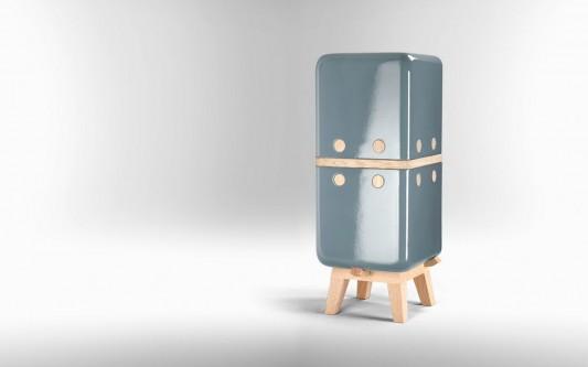 KERAMOS functional ceramic shell cabinet design