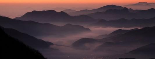 Korea beautiful mountain for bench design inspiration