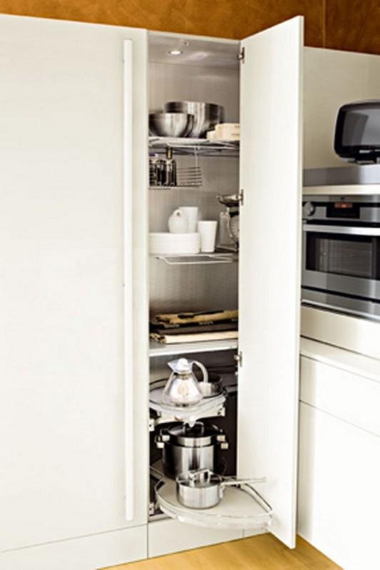 Kube high gloss kitchen cabinet design