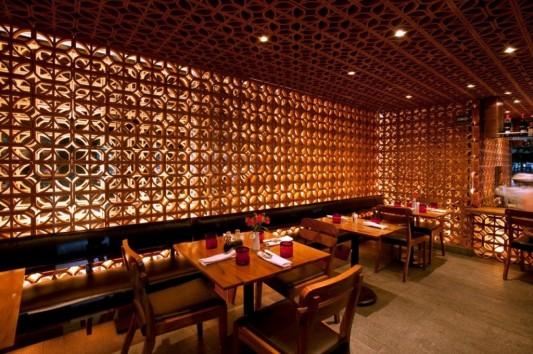 La Nonna Romantic and naturally restaurant interior