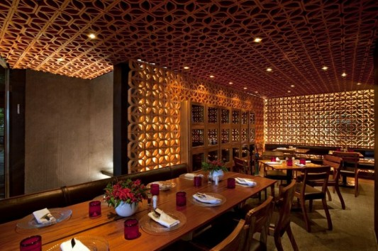 La Nonna restaurant with elegant and simplicity furniture
