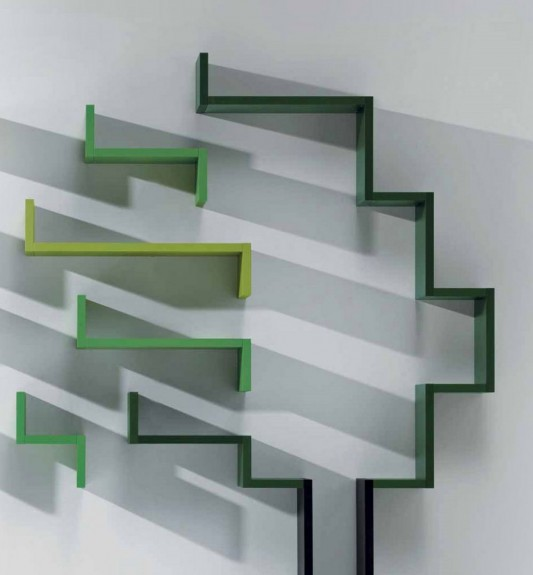 Simple And Creative Wall Modular Shelving System