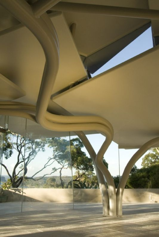 Leaf House ceiling design by Undercurrent Architects