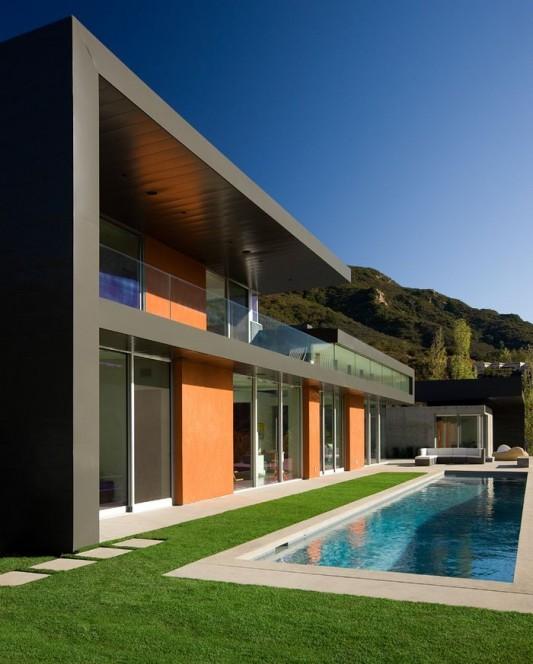 Lima residence modern minimalist swimming pool design ideas