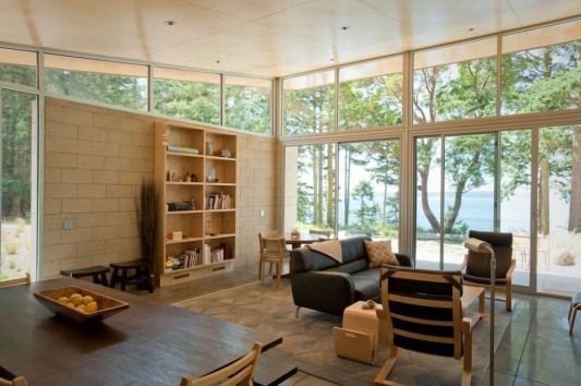 Lopez Island Cabin by Stuart Silk Architects interior design