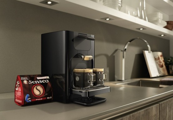 Luxury coffee machine for kitchen interior design home for Best luxury coffee maker