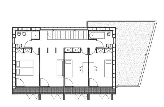 Maison passive plan by Karawitz