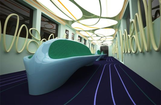 Metro Interior Design Delectable Metro Car Interior Designaleksandar Dimitrov  Home Design . Design Decoration