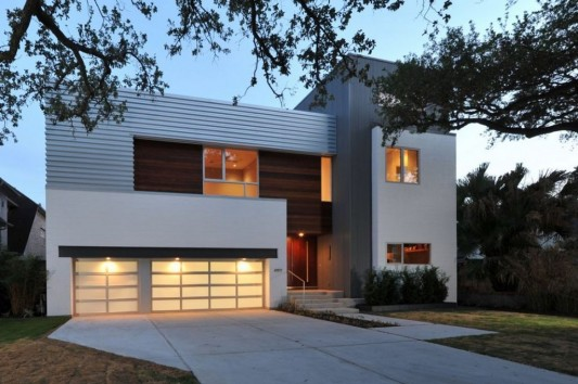 Minimalist Laurel Residence for Comfortable Everyday living - front exterior design