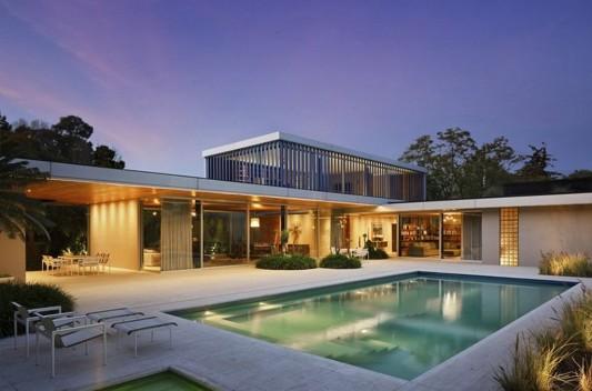 Modern Dwelling appreciating nature beautiful minimalist design