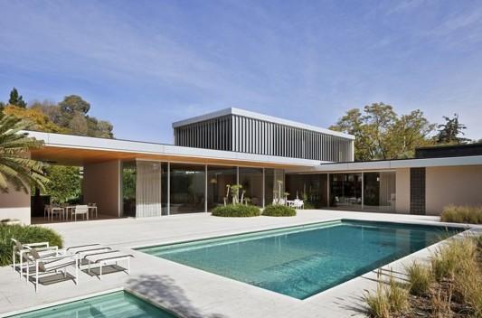 Modern Dwelling appreciating nature design in minimalist architecture