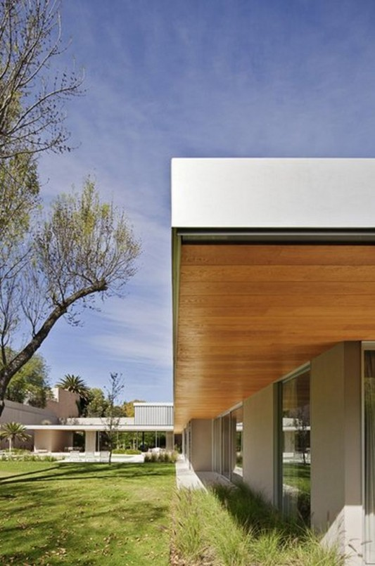 Modern Dwelling appreciating nature design naturally garden