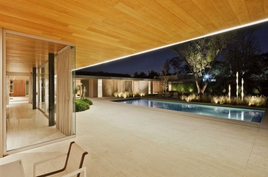 Modern Dwelling appreciating nature design open exterior and interior