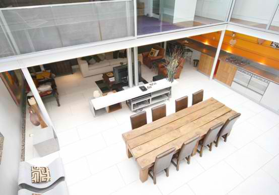 Modern Houses With Classics Dining Room