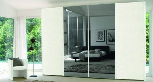 Modern Wardrobes with Evolution Engraved Door