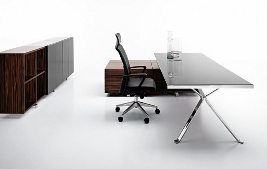 Modern Executive Office Furniture for Minimalist CEO Office Interior