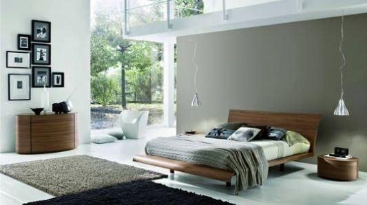 Modern stylish double bed contemporary design