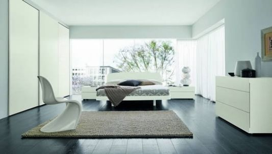 Modern stylish double bed for modern bedroom design ideas