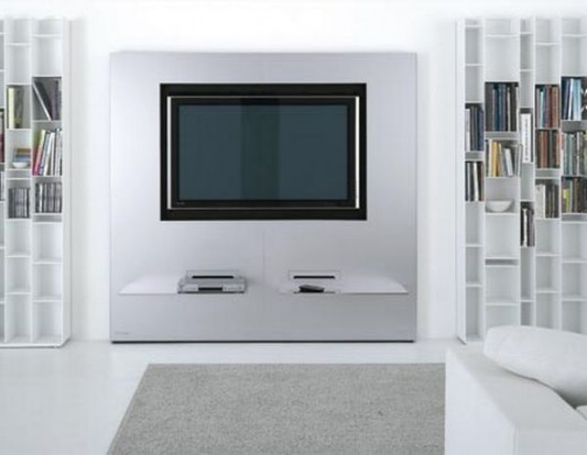 Modern stylish wall unit design for LCD TV-stand