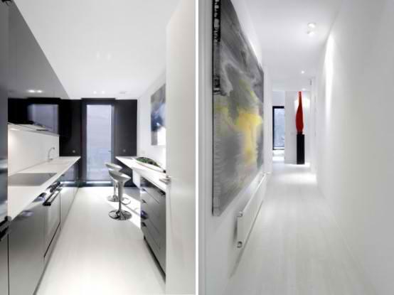 Modular  Black Gloss contemporary Home Design ideas