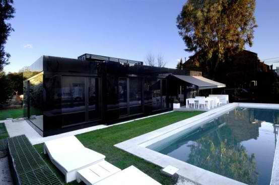 Modular  Black Gloss concept Home Design