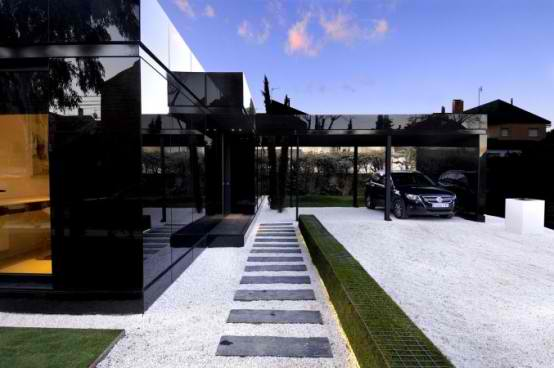 Modular  Black Gloss luxurious Home Design