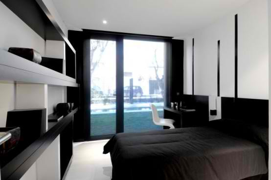 Modular Black Gloss Home Design concept ideas