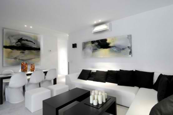 Modular  Black Gloss Home concept Design
