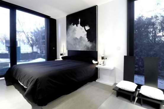 Modular  Black Gloss Home Design architecture